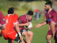 Action from the Horowhenua-Kapiti premier club rugby union match between Toa and Shannon at Te Atiawa Park in Paraparamu, New Zealand on Saturday, 18 July 2020. Photo: Dave Lintott / lintottphoto.co.nz