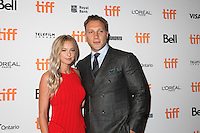 JAI COURTNEY AND HIS WIFE - RED CARPET OF THE FILM 'THE EXCEPTION' - 41ST TORONTO INTERNATIONAL FILM FESTIVAL 2016 . 15/09/2016. # FESTIVAL INTERNATIONAL DU FILM DE TORONTO 2016