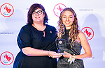 Highlights from the awards luncheon at the CPC Paralympic Summit 2018 at the Palliser Hotel in Calgary, Alberta on November 15, 2018.  Natalie Wilkie takes home the best games debut by a female award.