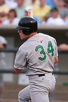 Clinton Lumberkings Joe Kemp during a Midwest League game at Fifth Third Field on July 18, 2006 in Dayton, Ohio.  (Mike Janes/Four Seam Images)