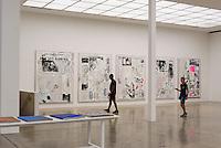 Ausstellung von Laura Owens in der Secession Friedrichstraße 12, 1010 Wien, Österreich, UNESCO-Weltkulturerbe<br /> Exhibition of Laura Owens in the  building of Vienna Secession , Vienna, Austria, world heritage