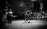 Iljo Keisse (BEL/Etixx-QuickStep) crossing the finish line in 5th<br /> <br /> Post-Tour Criterium Mechelen (Belgium) 2016