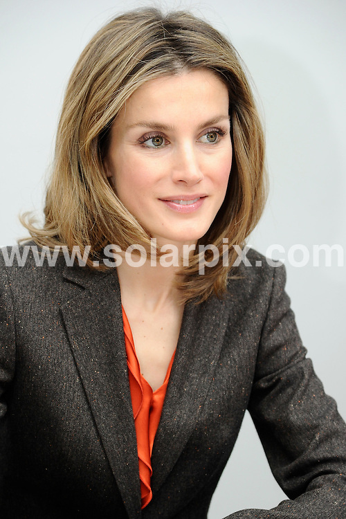 **ALL ROUND PICTURES FROM SOLARPIX.COM**                                             **WORLDWIDE SYNDICATION RIGHTS EXCEPT SPAIN - NO SYNDICATION IN SPAIN**                                                                                  Caption: Spanish Princess Letizia Ortiz visits  to meet &  watch the children perform at the Galileo Cultural in Madrid                                                                              This pic: Princess Letizia Ortiz                                                                                              JOB REF:14350        DMS/Drake       DATE: 11.01.2012                                                           **MUST CREDIT SOLARPIX.COM OR DOUBLE FEE WILL BE CHARGED**                                                                      **MUST AGREE FEE BEFORE ONLINE USAGE**                               **CALL US ON: +34 952 811 768 or LOW RATE FROM UK 0844 617 7637**
