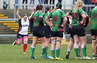 Tuesday 3rd April 2018 | Malone Women vs Ballynahinch Women<br /> <br /> Lynn Wilson during the Easter Tuesday Ulster Womens final between Malone and Ballynahinch at Kingspan Stadium, Ravenhill Park, Belfast, Northern Ireland. Photo by John Dickson / DICKSONDIGITAL