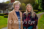Enjoying a stroll in the Demesne in Killarney on Sunday, l to r: Peg and Anne Carroll.