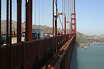 TRAFFIC ON GOLDEN GATE BRIDGE (1)