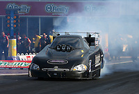 Apr 25, 2014; Baytown, TX, USA; NHRA funny car driver Gary Densham during qualifying for the Spring Nationals at Royal Purple Raceway. Mandatory Credit: Mark J. Rebilas-