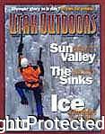 Utah Outdoors Magazine Cover