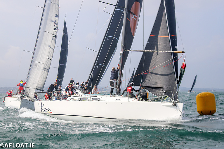 By virtue of her overall win in class Zero, Frank Whelan's J122 Kaya was declared overall winner of the 2021 ICRA championships