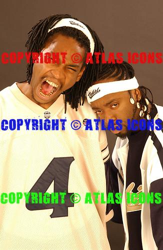 YIN YANG TWINS: 2003: Studio Photo Session<br /> Photo Credit :Anthony Cutajar/ Atlas Icons
