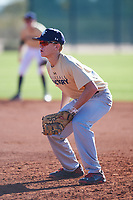 Matthew Cook (50), from Mansfield, Texas, while playing for the Brewers during the Under Armour Baseball Factory Recruiting Classic at Red Mountain Baseball Complex on December 28, 2017 in Mesa, Arizona. (Zachary Lucy/Four Seam Images)
