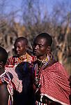 Maasai woman
