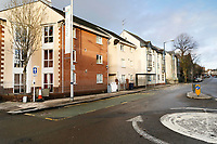 Pictured: High Street in Swansea, Wales, UK. Tuesday 26 December 2017<br /> Re: Kyle Dunbar, 29, from the Fforestfach area of Swansea, has been charged with attempted murder after David Wynne was attacked on Swansea High Street and will appear at Swansea Magistrate's Court on Boxing Day.<br /> The victim, a 39-year-old man remains in a critical condition in Morriston Hospital after the attack, which occurred on Saturday evening.<br /> Police have asked anyone with information to contact 101 or Crimestoppers anonymously.