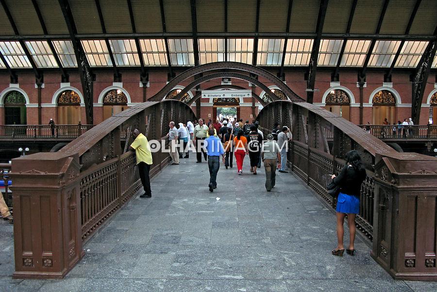 Estação da Luz. Centro histórico de São Paulo. 2008. Foto de Juca Martins.