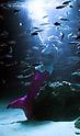 """Twilight lagoon"" at Tokyo's Ikebukuro Sunshine Aquarium"