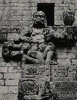 Howler Monkey God or Batz C. 159 AD. Copan Honduras