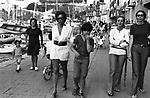 ORNELLA VANONI A PORTO ERCOLE 1971