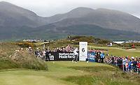 27 May 2015; Rory McIlroy tees off at the 6th<br /> <br /> Dubai Duty Free Irish Open Golf Championship 2015, Pro-Am. Royal County Down Golf Club, Co. Down. Picture credit: John Dickson / DICKSONDIGITAL