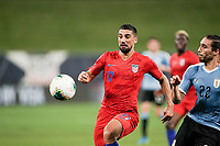 St. Louis, MO - SEPTEMBER 10: Sebastian Lletget #17 of the United States follows the ball during their game versus Uruguay at Busch Stadium, on September 10, 2019 in St. Louis, MO.