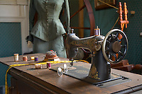 Antique Singer Sewing Machine, Kirby's Mill, Medford, New Jersey
