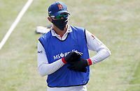 Aaron Beard of Essex wears full safety kit whilst acting as twelfth man during Essex CCC vs Kent CCC, Bob Willis Trophy Cricket at The Cloudfm County Ground on 1st August 2020