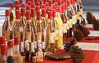 Different kinds of liqueurs. Bordeaux city, Aquitaine, Gironde, France
