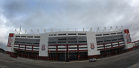 A general view of the bet365 Stadium the home of Stoke City<br /> <br /> Photographer Mick Walker/CameraSport<br /> <br /> The EFL Sky Bet Championship - Stoke City v Huddersfield Town - Saturday 21st November 2020 - bet365 Stadium - Stoke<br /> <br /> World Copyright © 2020 CameraSport. All rights reserved. 43 Linden Ave. Countesthorpe. Leicester. England. LE8 5PG - Tel: +44 (0) 116 277 4147 - admin@camerasport.com - www.camerasport.com