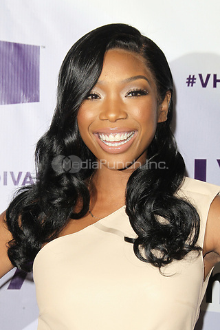 LOS ANGELES, CA - DECEMBER 16: Brandy at VH1 Divas 2012 at The Shrine Auditorium on December 16, 2012 in Los Angeles, California. Credit: mpi21/MediaPunch Inc.
