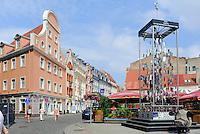 Souvenirs am Platz an der Kungu Iela in Riga, Lettland, Europa, Unesco-Weltkulturerbe