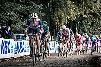 Jasper Stuyven (BEL/Trek-Segafredo) up the Kemmelberg<br /> <br /> 82nd Gent-Wevelgem in Flanders Fields 2020 (1.UWT)<br /> 1 day race from Ieper to Wevelgem (232km)<br /> <br /> ©kramon