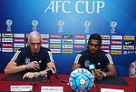Johor Darul Ta'zim's Press Conference prior to AFC Cup 2016 Semi-Finals 1st leg match between Johor Darul Ta'zim (MAS) vs JSW Bengaluru FC (IND) at Stadium Tan Sri Dato Hj Hassan Yunos on 27 September 2016, in Johor Bahru, Malaysia. Photo by Simon Yap / Lagardere Sports