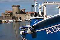 Europe/France/Aquitaine/64/Pyrénées-Atlantiques/Pays Basque/ Socoa: Le fort construit par Vauban