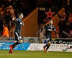 27.3.2018: St Mirren v Dumbarton:<br /> Lewis Morgan celebreates his second goal