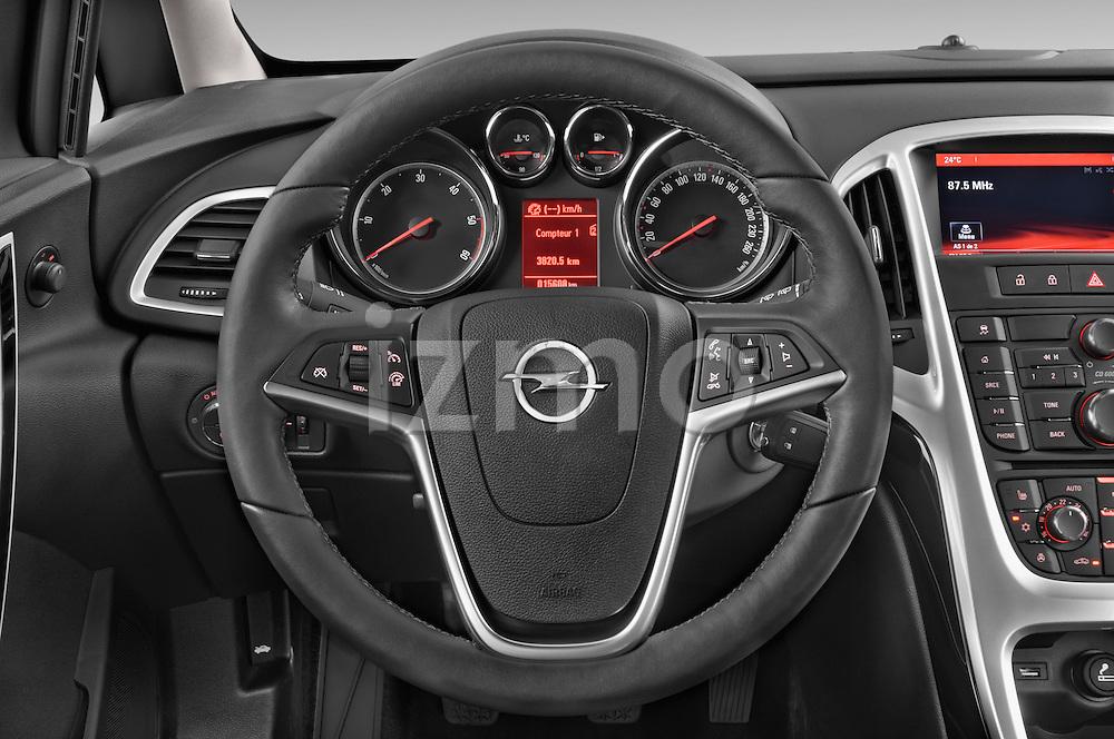 Car pictures of steering wheel view of a 2015 Opel ASTRA Enjoy 5 Door Wagon 2WD Steering Wheel