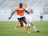Sabbath McKiernan-Allen, Kimberly DeCesare.  The Charlotte Lady eagles defeated the Long Island Rough Riders, 4-0, to advance to the W-League Eastern Conference Championship.