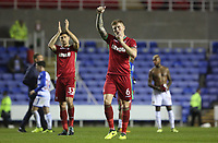 Alfie Mawson of Swansea City after the final whistle of the Carabao Cup Third Round match between Reading and Swansea City at Madejski Stadium, Reading, England, UK. Tuesday 19 September 2017