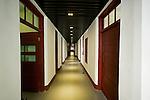 Main corridor inside the Shadyside Hospital.