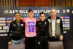 Press conference of the AFF Suzuki Cup 2016 on 18 November 2016. Photo by Stringer / Lagardere Sports