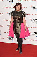 """Clare Stewart<br /> at the London Film Festival 2016 premiere of """"Nocturnal Animals"""" at the Odeon Leicester Square, London.<br /> <br /> <br /> ©Ash Knotek  D3179  14/10/2016"""