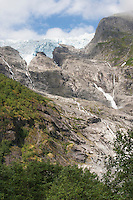 Supphella, Gletscher, Festlandsgletscher, Eis, Jostedalsbreen, Jostetal, Jostedalsbreen-Nationalpark, Nationalpark, Norwegen. Jostedal Glacier, glacier, ice, Norway
