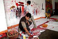 - social center Leoncavallo, the space for children....- centro sociale Leoncavallo, lo spazio bambini