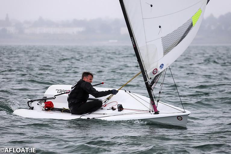 Noel Butler sailing his RS Aero dinghy