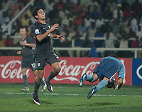 Victor Chavez. Spain defeated the U.S. Under-17 Men National Team  2-1 at Sani Abacha Stadium in Kano, Nigeria on October 26, 2009.