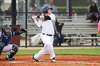 Connor Bradley (16) of Hayesville, North Carolina during the Baseball Factory All-America Pre-Season Rookie Tournament, powered by Under Armour, on January 13, 2018 at Lake Myrtle Sports Complex in Auburndale, Florida.  (Michael Johnson/Four Seam Images)