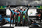#10: Konica Minolta Acura ARX-05 Acura DPi, DPi: Ricky Taylor, Filipe Albuquerque, Alexander Rossi, Helio Castroneves, podium
