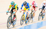 Sultanmurat Miraliyev of Kazakhstan competes in the Men's Omnium Finals during the 2017 UCI Track Cycling World Championships on 15 April 2017, in Hong Kong Velodrome, Hong Kong, China. Photo by Marcio Rodrigo Machado / Power Sport Images