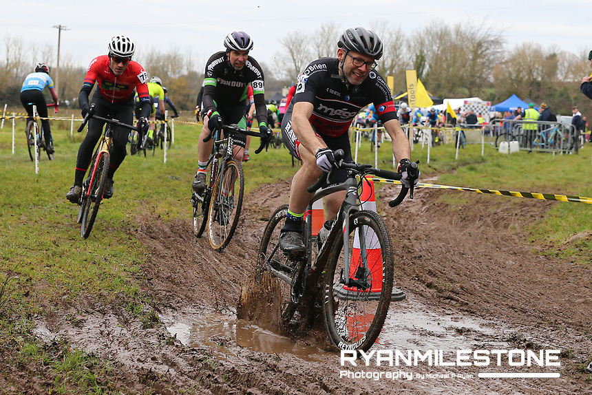 EVENT:<br /> Round 5 of the 2019 Munster CX League<br /> Drombane Cross<br /> Sunday 1st December 2019,<br /> Drombane, Co Tipperary<br /> <br /> CAPTION:<br /> Bobby Coleman of Greenmount CA in action during the A Race - Senior<br /> <br /> Photo By: Michael P Ryan
