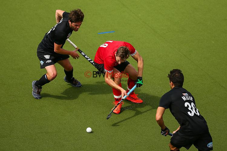 Aidan Sarikaya. International Hockey, Blacksticks men v Canada. Lloyd Elsmore Park, Auckland, New Zealand. Saturday 20 October 2018. Photo: Simon Watts/Hockey NZ