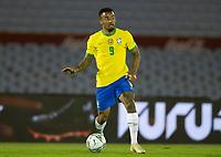 17th November 2020; Centenario Stadium, Montevideo, Uruguay; Qatar 2022 qualifiers; Uruguay versus Brazil; Gabriel Jesus of Brazil