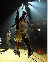 UVa women's basketball players.